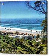 La Jolla Beach Acrylic Print