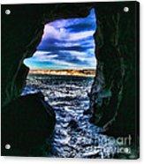 La Jolla Cave By Diana Sainz Acrylic Print