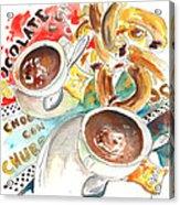 La Laguna Churros Y Chocolate Acrylic Print