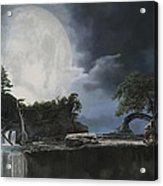 La Luna Bianca Acrylic Print