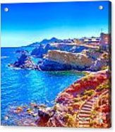La Manga Seaside In Spain Acrylic Print