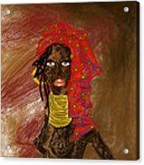 La Mujer De Africa  Acrylic Print