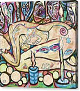La Ofrenda A Yemanja - Version 02 Acrylic Print