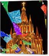 La Parroquia Celebration Acrylic Print