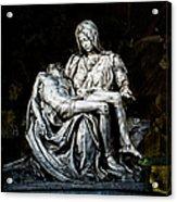 La Pieta Acrylic Print