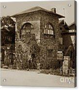 La Playa Carmel And Located At Camino Real At Eighth Ave. Circa  1925 Acrylic Print