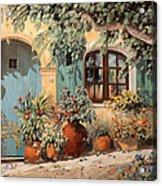 La Porta Azzurra Acrylic Print