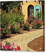 La Posada Gardens In Winslow Arizona Acrylic Print