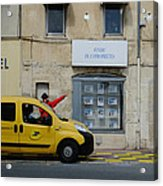La Poste France Acrylic Print