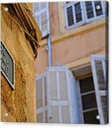 La Provence Windows Acrylic Print
