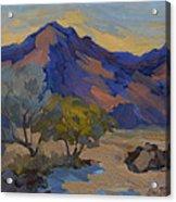 La Quinta Shadows Acrylic Print