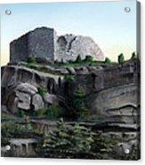 La Rocca De Monte Calvo Acrylic Print