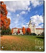 La Roche College On A Fall Day Acrylic Print