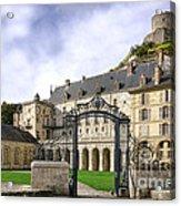 La Roche Guyon Castle Acrylic Print by Olivier Le Queinec