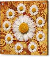 La Ronde Des Marguerites 0101a Acrylic Print