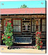 La Rosa Motel Pioneer Town Acrylic Print