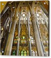 La Sagrada Familia Iv Acrylic Print