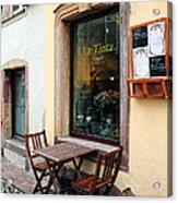 La Tinta Cafe Acrylic Print
