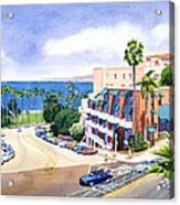 La Valencia And Prospect Park Inn Lj Acrylic Print