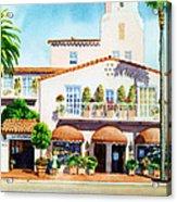 La Valencia Hotel Acrylic Print
