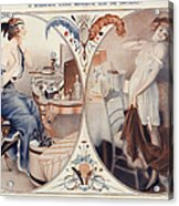 La Vie Parisienne 1922 1920s France Leo Acrylic Print by The Advertising Archives