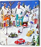 La Ville Grand Mere Acrylic Print