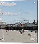 Labor Day At The Pier  Acrylic Print
