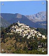 Labro, Lazio, Italy Acrylic Print