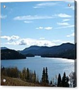 Lac Des Roches Acrylic Print