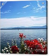Lac Leman - Switzerland Acrylic Print