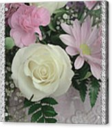 Lace Framed Mothers Day Acrylic Print