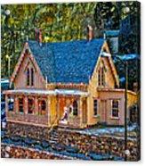 Lace House Blackhawk  Colorado Acrylic Print