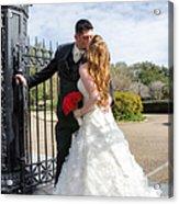 Lacey And Adam Wedding 1 Acrylic Print