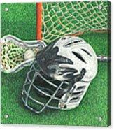 Lacrosse Acrylic Print
