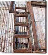 Ladder 1 Acrylic Print by Minnie Lippiatt