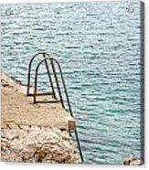 Ladder Acrylic Print by Borislav Marinic
