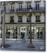 Laduree On The Champs De Elysees In Paris France  Acrylic Print