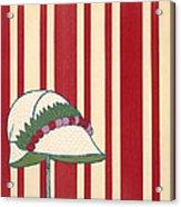 Ladies Hat, From Les Robes De Paul Acrylic Print