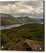 Ladies View Lakes Of Killarney Ireland Acrylic Print by Dick Wood