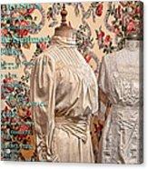Ladies' Wear Acrylic Print