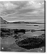 Ladram Bay And Sidmouth Acrylic Print