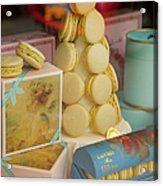 Laduree Macarons Acrylic Print