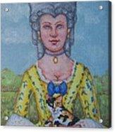Lady Abigail Acrylic Print