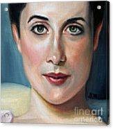 Lady Agnew Study Acrylic Print