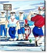 Lady Bears Professional Golf Association Acrylic Print