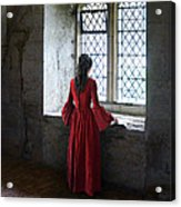 Lady By The Window Acrylic Print