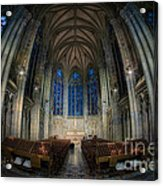 Lady Chapel At St Patrick's Catheral Acrylic Print