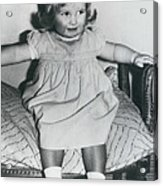 Lady Diana A Chubby Two-year Old Acrylic Print