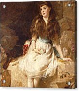Lady Edith Amelia Ward Daughter Of The First Earl Of Dudley Acrylic Print