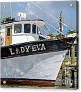 Lady Eva Shrimp Boat Acrylic Print